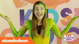 Meg DeAngelis' (MayBaby) Tips for How to Get Slimed! | Kids' Choice Awards 2017 | Nick