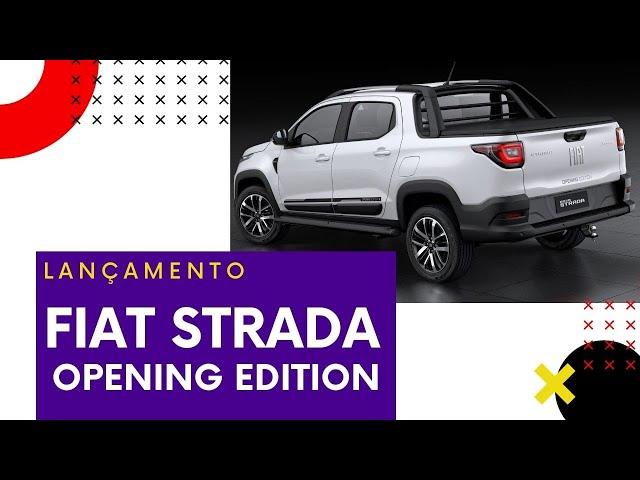 FIAT STRADA OPENING EDITION POR + DE R$ 90K - MTED