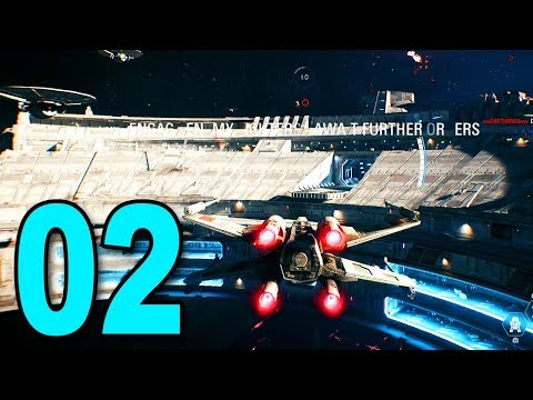 FLYING AN X-WING! - Star Wars Battlefront 2 Gameplay