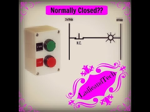 How Does a Normally Closed Push Button Function?
