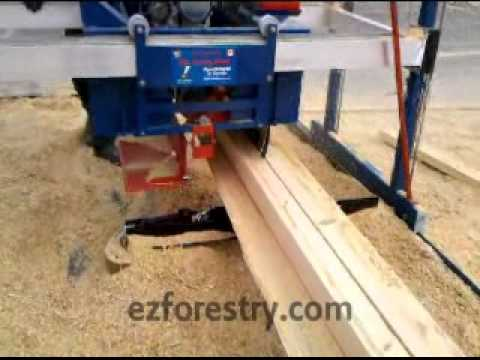 D&L 180 Degree Swing Blade Sawmill can