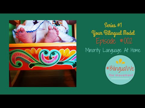 #BilingualWe Episode #0002 - Minority Language At Home