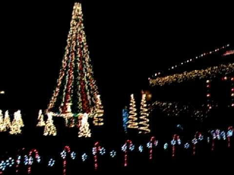 Patriotic Christmas Lights Star-Spangled Banner - Patriotic Christmas Lights Star-Spangled Banner - YouTube