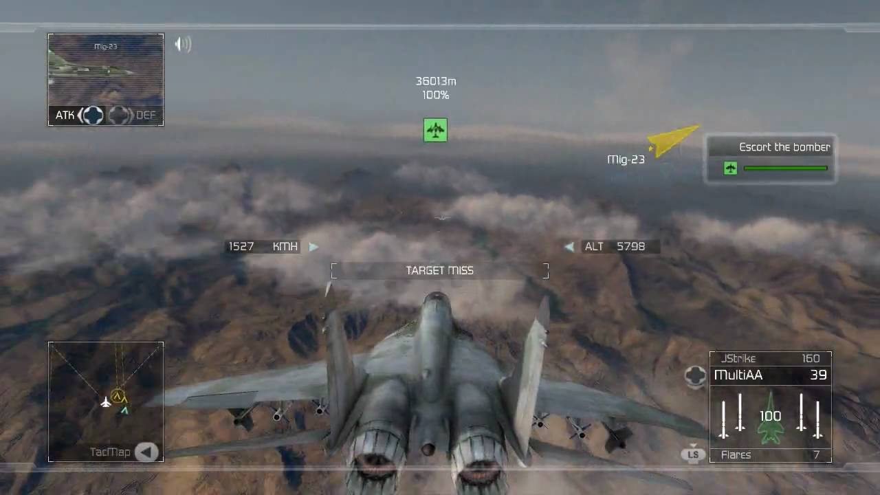 hd] tom clancys hawx air to air combat gameplay - youtube