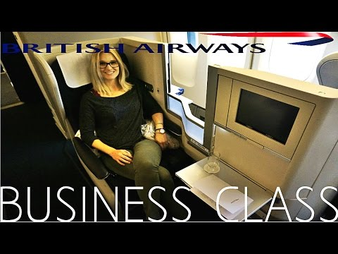 British Airways 747 BUSINESS CLASS (Club World) London to New York|Boeing 747-400