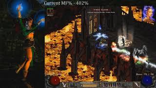 The Best Chaos Sanctuary Ever!! - Godly Drop #1 & #2 - Diablo 2