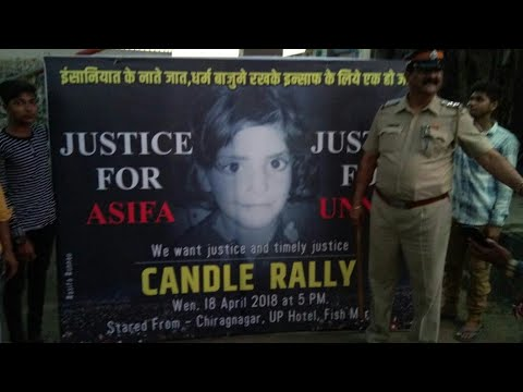 Justice for Asifa | Candle Rally In Mumbai..