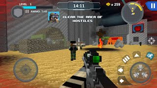 Cube Wars Battle Survival Android Gameplay screenshot 1