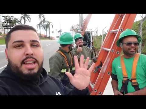 FILMEI A ENEL CORTANDO CABOS EM ALPHAVILLE -  LOUCOS DA TELECOM