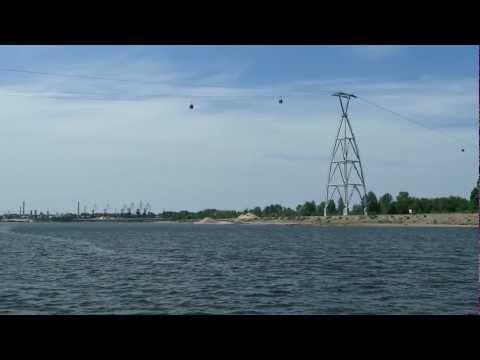 What to see in Russia 3. Nizhny Novgorod - cableway in Nizhny Novgorod