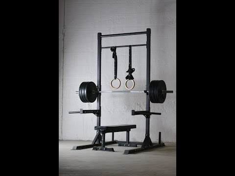 REP Squat Rack with Pull Up Bar v2 | Product Overview