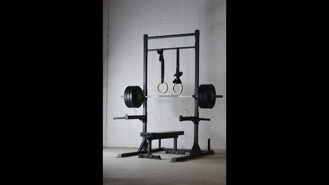 Rep Squat Rack With Pull Up Bar V2 Product Overview Youtube