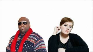 adele vs cee lo green cry baby rolling in the deep instrumental edit