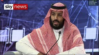 Saudi Crown Prince speaks for the first time since Khashoggi murder