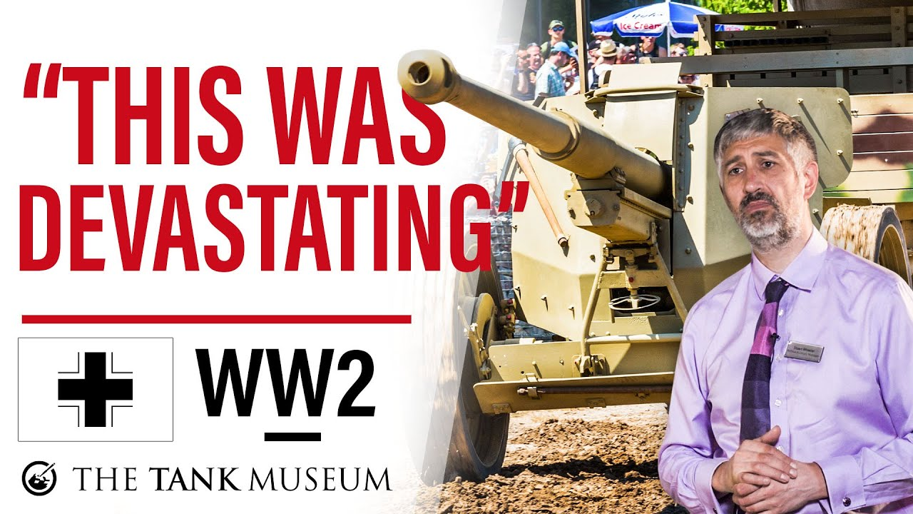 Tank Chats Special | Pak 43/41 Anti-Tank Gun | The Tank Museum