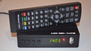 Суперновинка! Winquest T-2017HD Недорогий DVB-T2 тюнер Т2 Огляд та налаштування