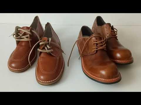 Кожаные туфли из советской торговли