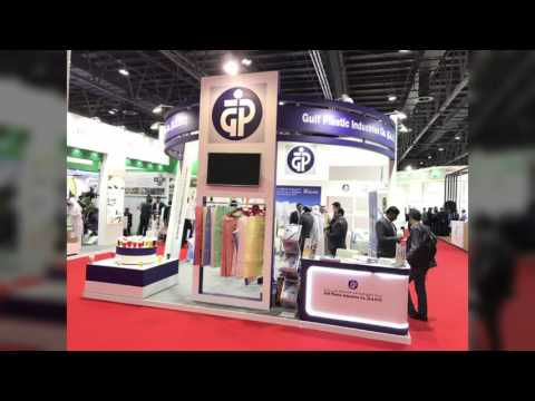 Arab Plast 2017 exhibition in dubai with high quality stand