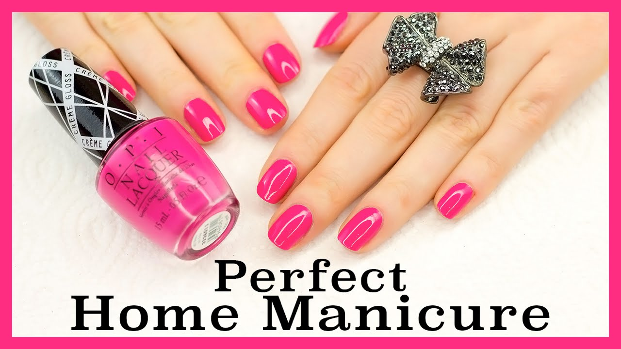 Perfect home manicure diy tutorial youtube perfect home manicure diy tutorial solutioingenieria Image collections