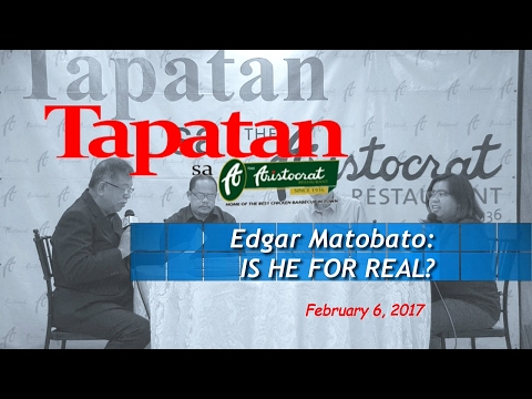 Edgar Matobato: IS HE FOR REAL?