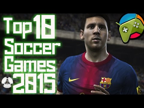 Top 10 Best Soccer - Football Android Games 2015 HD - 동영상