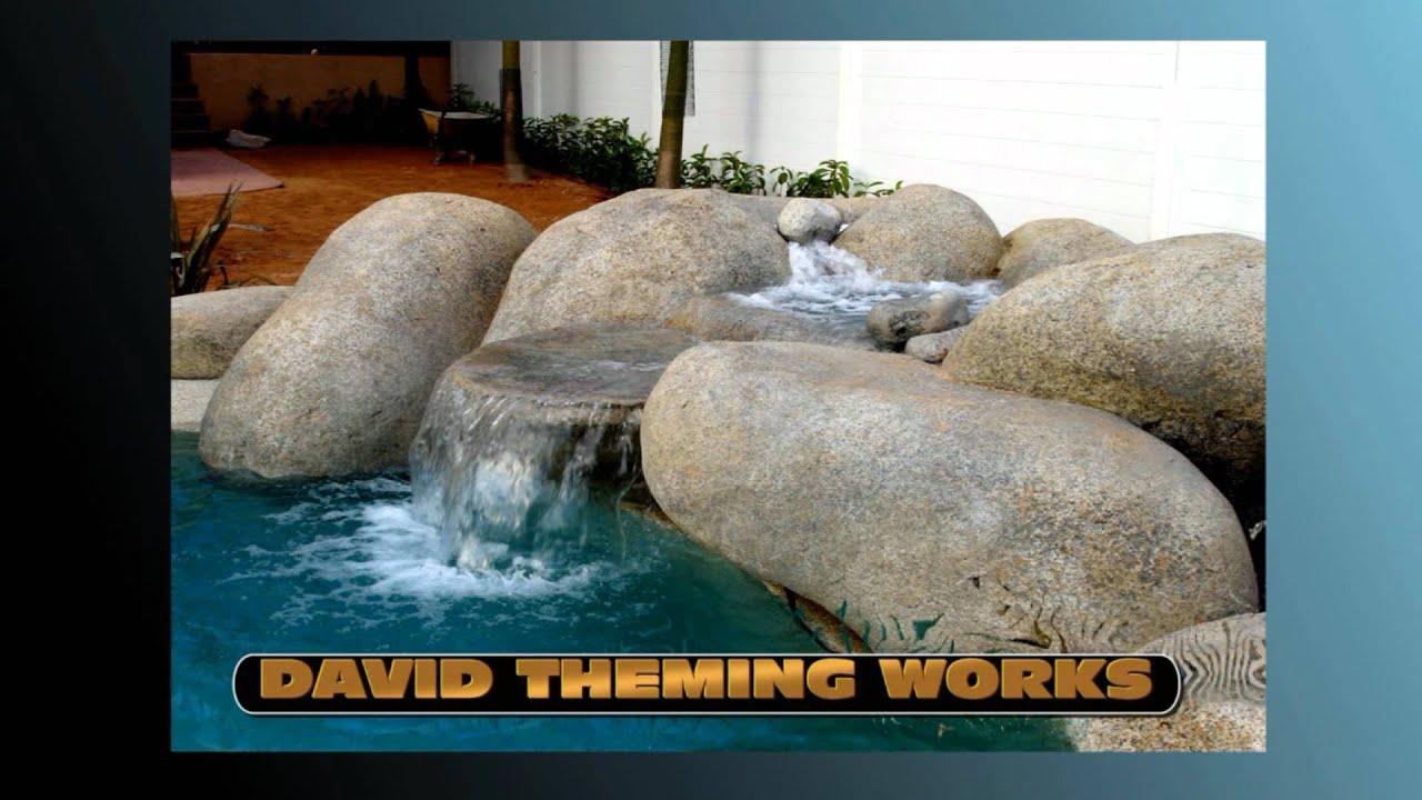 Cascadas artificiales y estanques artificial waterfalls for Filtros para lagos artificiales