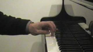 The Thumb Under Exercise for the Piano - Lesson One