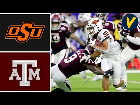 #23 Oklahoma State vs Texas A&M Highlights | 2019 Texas Bowl Highlights | College Football