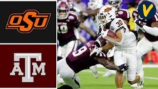 #23 Oklahoma State vs Texas A&M Highlights | 2019 Texas Bowl Highlights | College Football