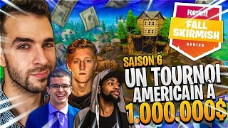 1ère Game du Fall Skirmish Américain ► 1er Tournoi Saison 6 = 1 millions de $ sur Fortnite