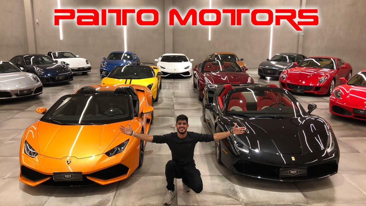 PAITO MOTORS, O SHOOWROOM MAIS CARO DO BRASIL - CVBR #563