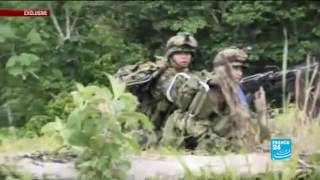 ejercito de colombia en combate