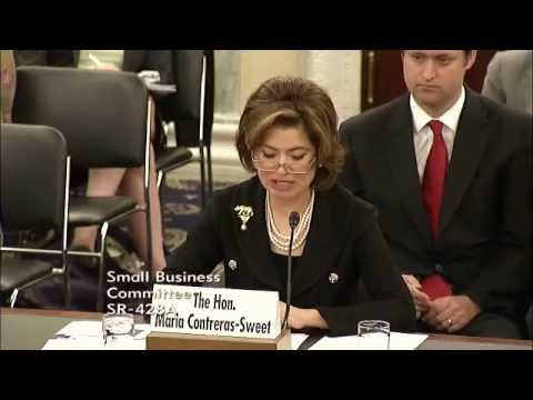 Hearing - Small Business Administration FY 2015 Budget