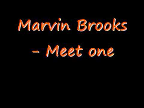 Meet one - Marvin Brooks Cover