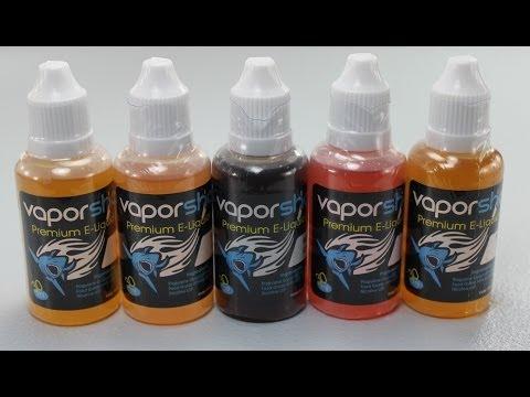 Vapor Shark: E-Liquid Review