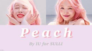 日本語字幕 / カナルビ【 Peach 】IU(아이유)