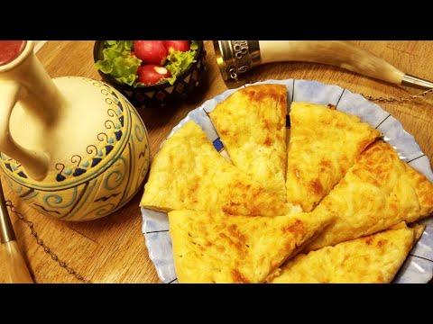 видео: Хачапури по - мегрельски, с двойным сыром. Просто, вкусно, недорого!