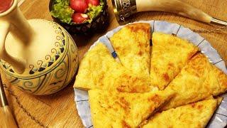 Хачапури по - мегрельски, с двойным сыром. Просто, вкусно, недорого!