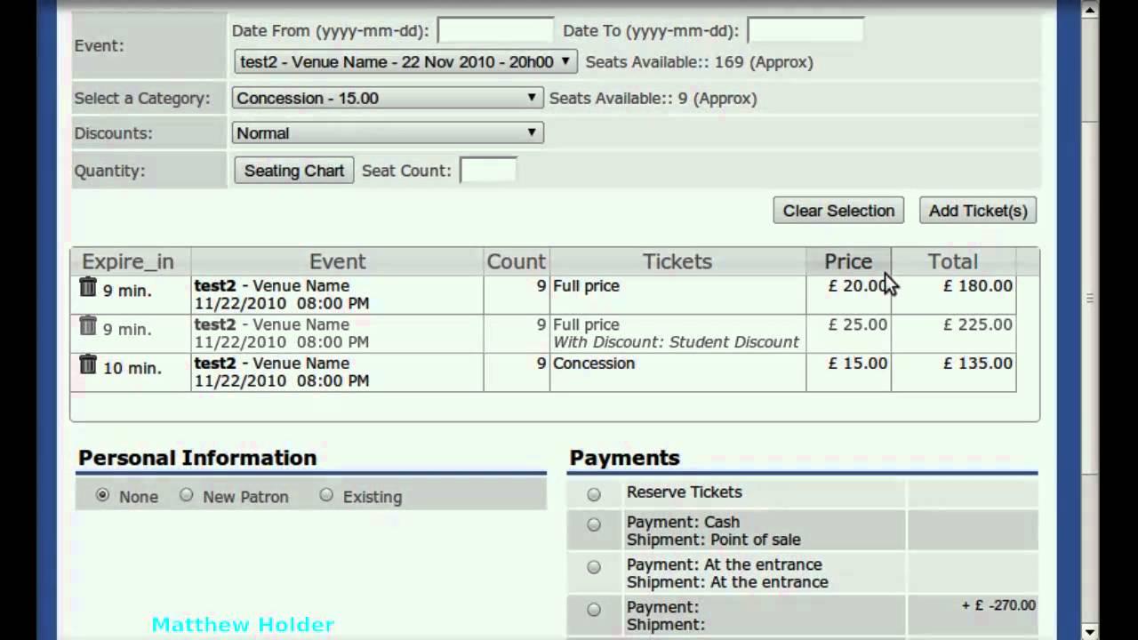 Fusion Ticket