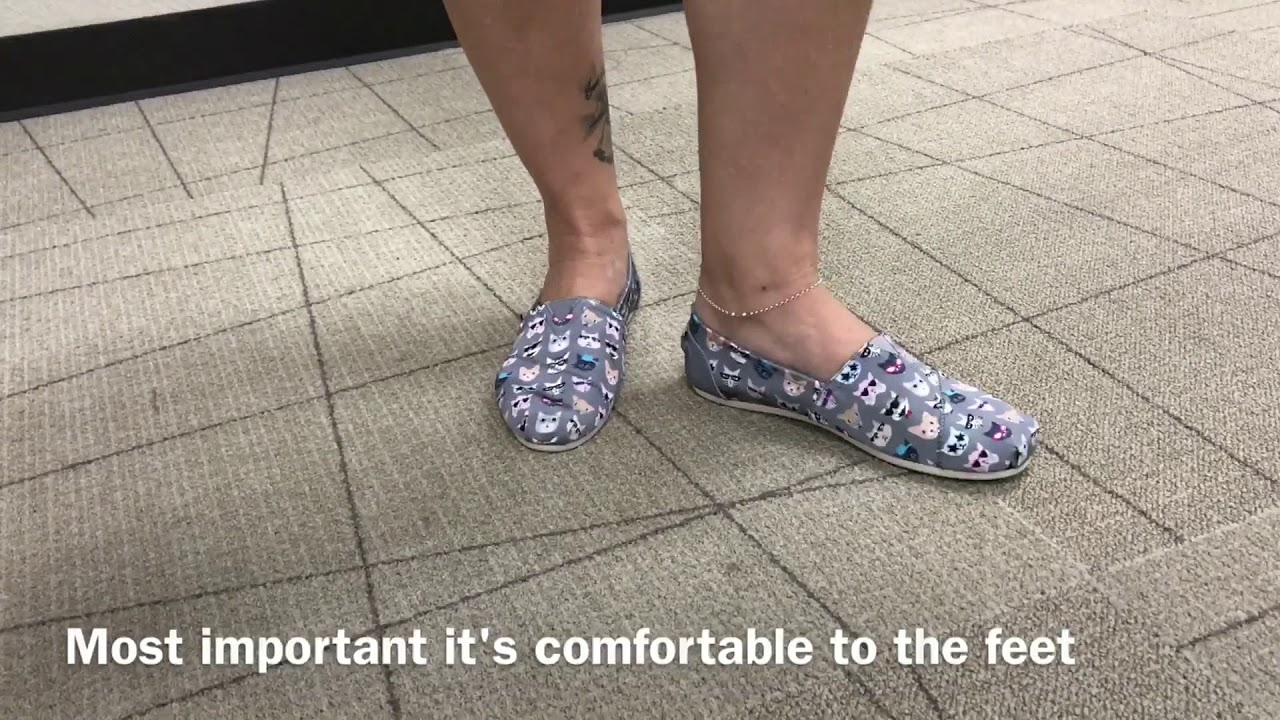 new products coupon code amazing price Skechers women's Bobs flat shoes - YouTube