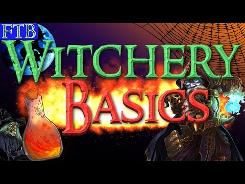 Ftb Infinityep10 How To Become A Witch Witchery Guide Youtube