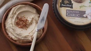 Boars Head Roasted Garlic Hummus & Vegetable Sandwich