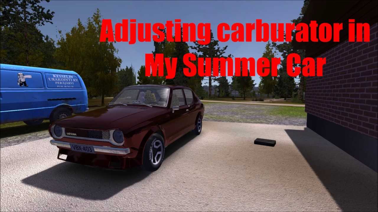 my summer car valve adjustment
