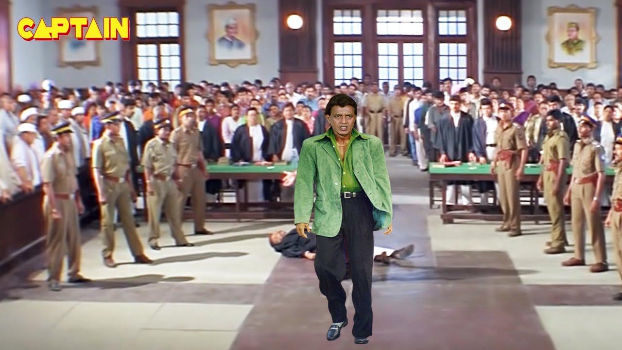 """मिथुन चक्रवर्ती, विनीथा, गुलशन ग्रोवर की अब तक की सबसे खतरनाक फिल्म """" शेरा """" #Mithun Chakraborty"""