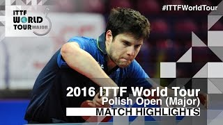 2016 Polish Open Highlights: Dimitrij Ovtcharov vs Kohei Sambe (1/4)(Review all the highlights from the Dimitrij Ovtcharov vs Kohei Sambe (1/4) Match from the 2016 ITTF Polish Open Subscribe here for more official Table Tennis ..., 2016-04-23T22:15:53.000Z)