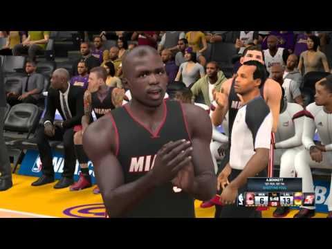 NBA2K15 Сезон за Лейкерс - Майами Хит