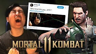 Mortal Kombat 11 - JOHNNY CAGE TEASED!! [REACTION]