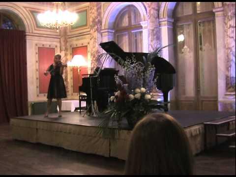 Maria Solozobova - P. Tchaikovsky Scherzo aus Souvenir d'un lieu cher Op. 42