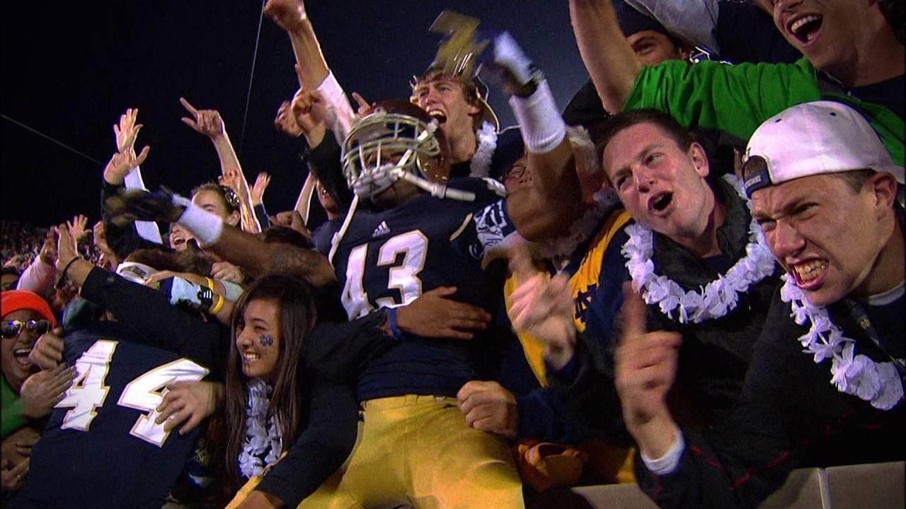Notre Dame Celebrates Partnership with NBC - YouTube
