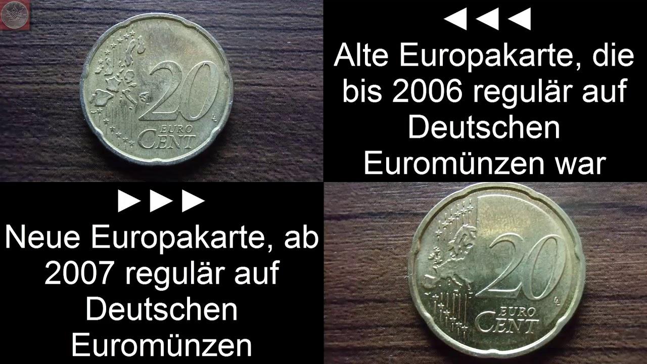 Seltene Euromünze Fehlprägung Aus Deutschland Youtube